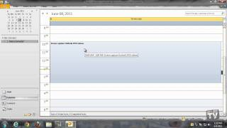 Modifying Or Deleting An Appointment In Outlook 2010