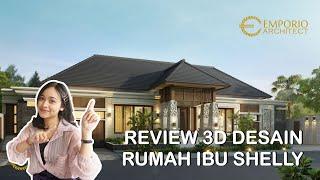 Video Desain Rumah Villa Bali 1 Lantai Ibu Shelly di  Palu, Sulawesi Tengah