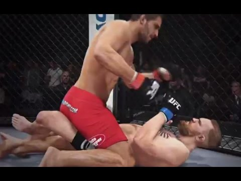 This EA Sports UFC McGregor vs Mendes Simulation Seems A Bit Hokey