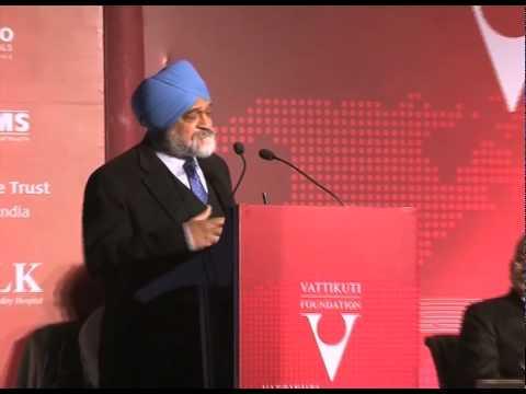 Dr. Montek Singh Ahluwalia Opening Remarks VGR 2012