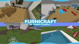 FURNICRAFT How To Get Furniture In Minecraft PE 1.9+