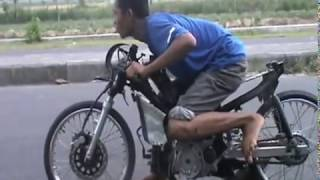 Belajar Start Drag Bike Liar