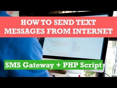 php text message