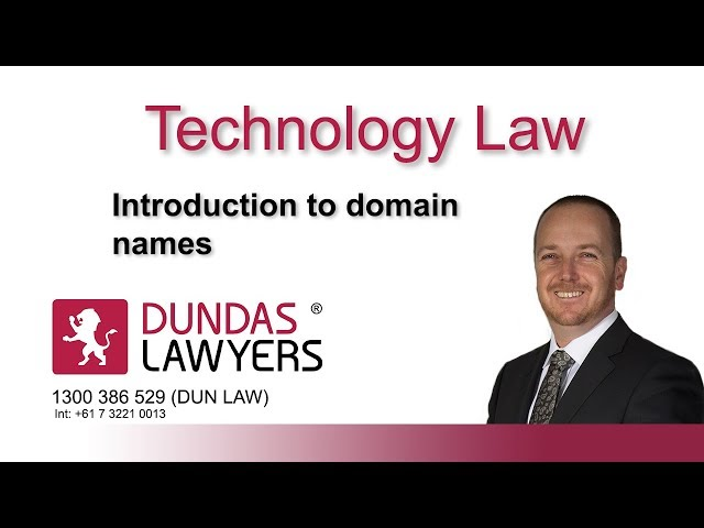 Domain disputes in Australia an introduction