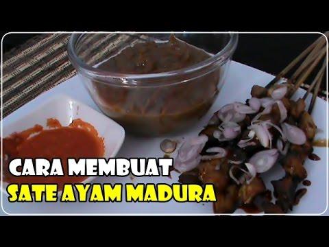 Video Cara Membuat Bumbu SATE AYAM MADURA - Resep Sate Ayam
