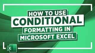 How To Use Conditional Formatting In Microsoft Excel: Microsoft Excel Tutorial