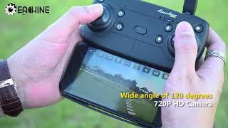 Drone con cámara de vídeo en directo, EACHINE E58 WiFi FPV