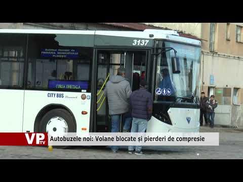Autobuzele noi: Volane blocate și pierderi de compresie