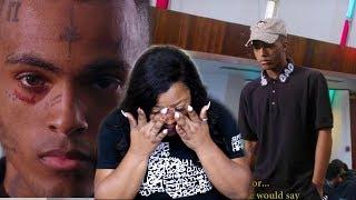 *she Cried*MOM REACTS TO XXXTENTACION   SAD!