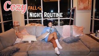 Cozy Fall Night Routine | Jasmeannnn
