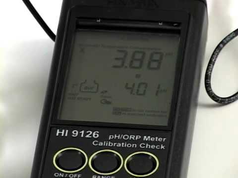 Video instructivo HI 9126
