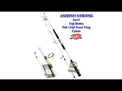 Cần Câu Ashino Strong - Phiên Bản Fuji Bướm - Pad Fuji Team Vàng - New 2021
