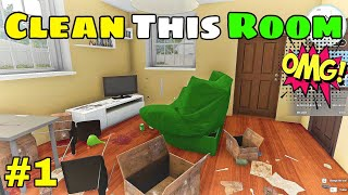 Time To Clean My House - House Flipper Gameplay In Hindi By CELLZO #1