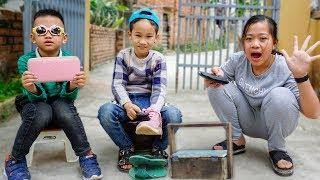 Trò Chơi Cậu Bé Đánh Giày - Đừng Bao Giờ Coi Thường Người Khác - Bé Nhím TV