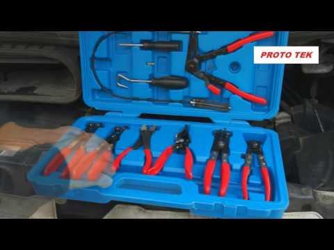 kit pinze per manicotti tubi raffreddamento fasce per cuffie
