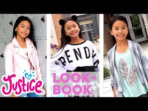 JESSALYN GRACE'S JUSTICE LOOKBOOK - BACK TO SCHOOL 💗 JUSTICE