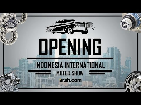 Opening Ceremony International Indonesia Motor Show 2017