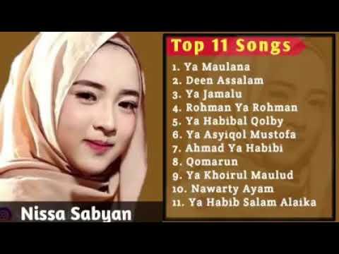 Full Album Sholawat Qosidah Nabi Muhammad Saw - Nissa Sabyan