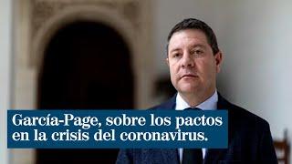 """García-Page califica de """"pobreza política"""" que el Gobierno mendigue apoyos"""