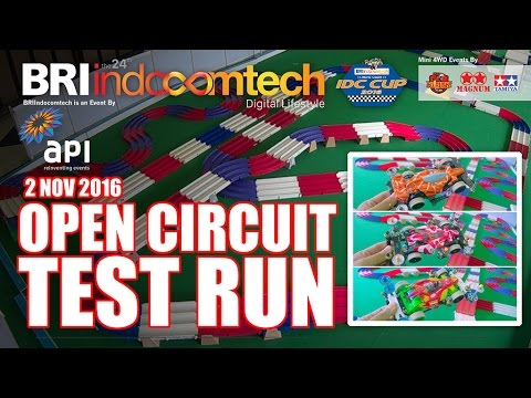 DAY 1 - Test Run on Open Circuit at BRI Indocomtech JCC Senayan (2 Nov 2016)
