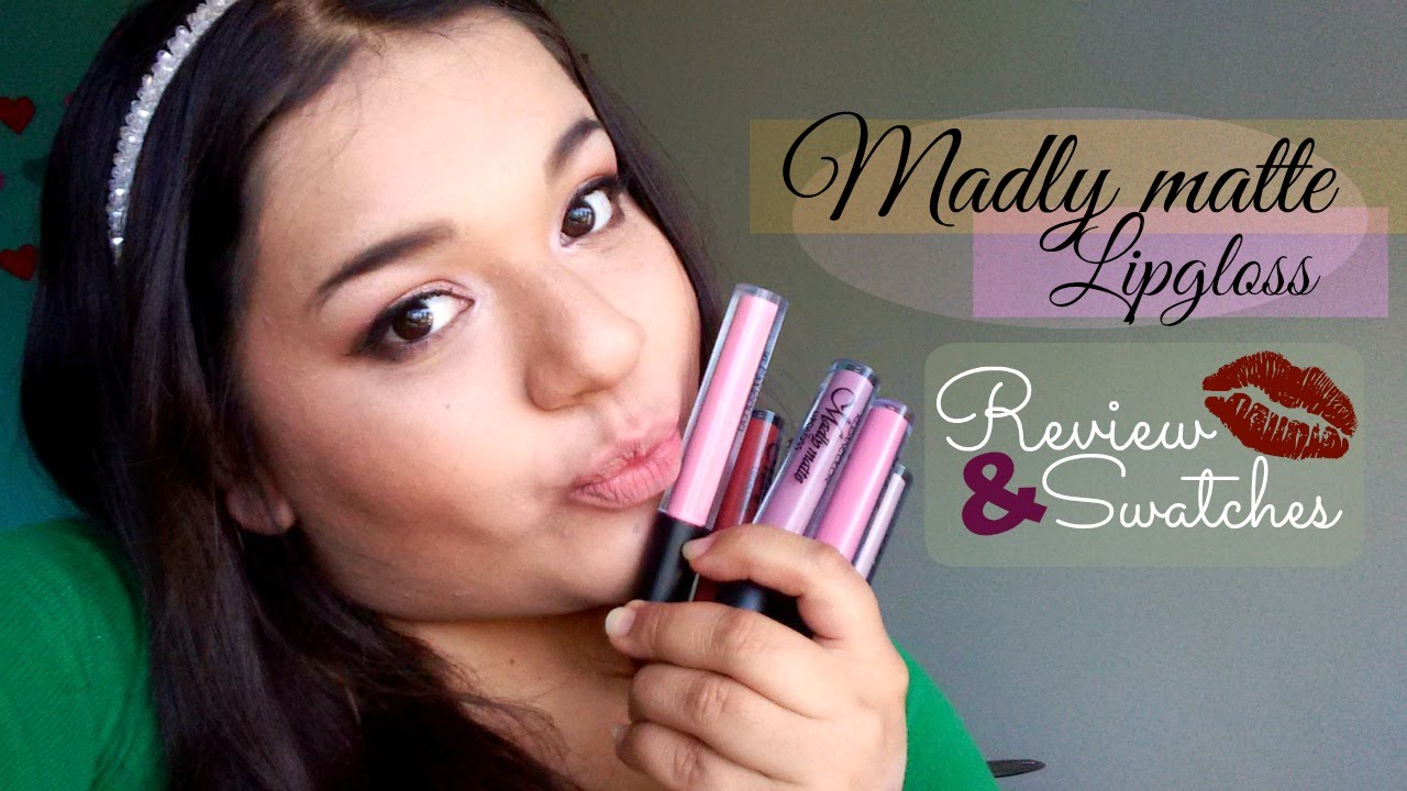 Demelza Makeup - Madly Matte Lipgloss: Nudes - Kleancolor