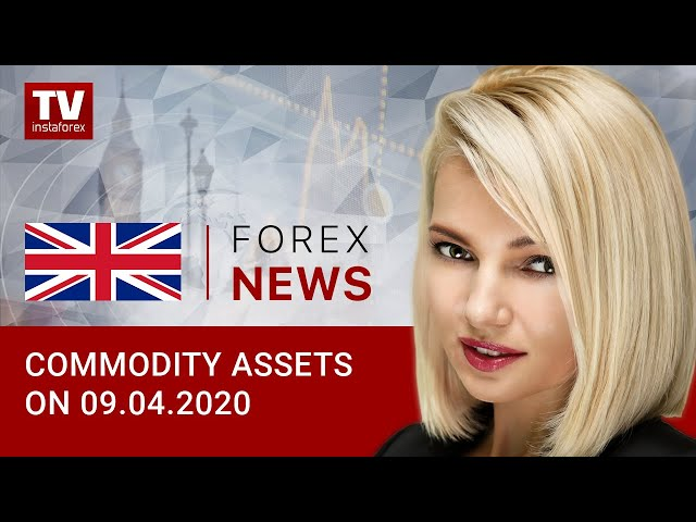 09.04.2020:  Oil and RUB traders await OPEC+ meeting outcome (Brent, USD/RUB)