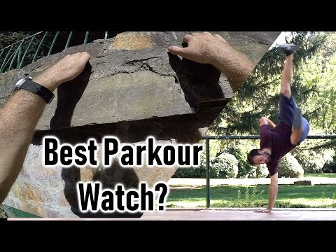 Amphitheater Parkour Training – Smartwatch Run By Body Heat Review