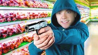 ROBBING A SUPER MARKET! | I'll Take You To Tomato Town