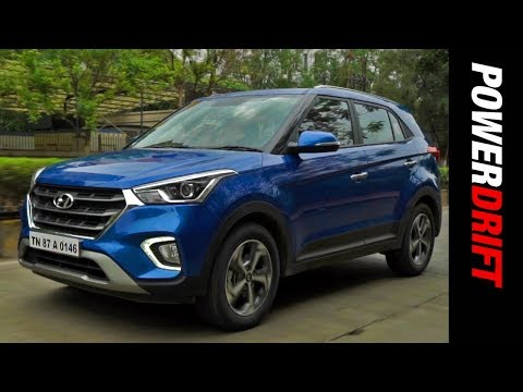 2018 Hyundai Creta Facelift Review : The 'hum Fit Toh India Fit' Car : PowerDrift