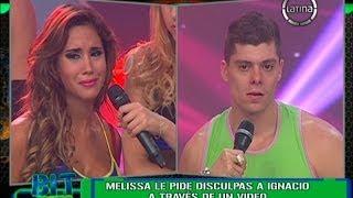 "Melissa Paredes: ""Ignacio, perdóname, te amo con todo mi corazón"""