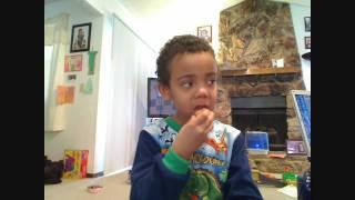 Review of Enjoy Life Foods Snickerdoodle Cookies by Jayden age 5