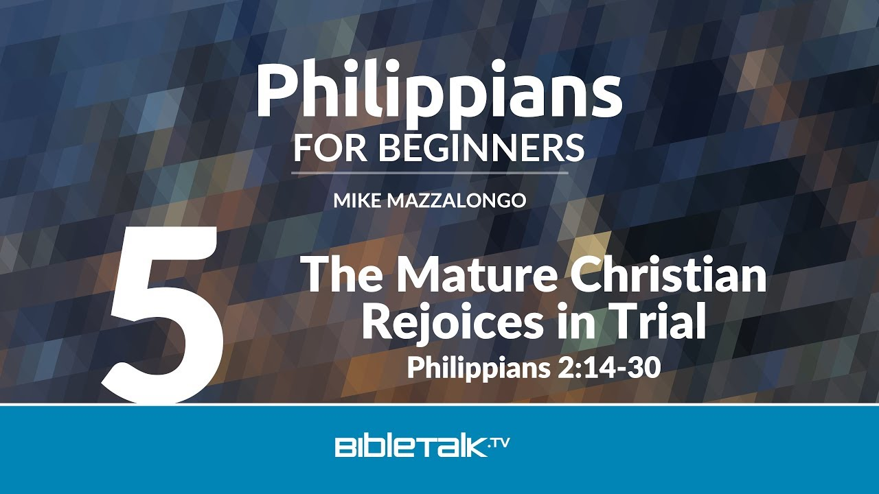 5. The Mature Christian Rejoices in Trial