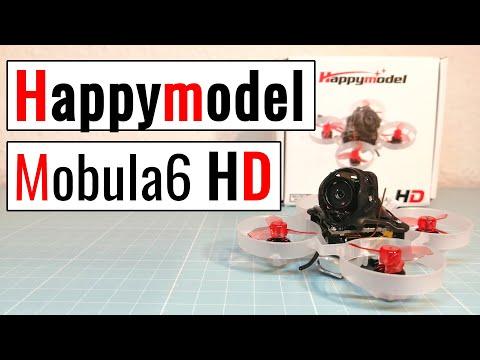 Happymodel Mobula 6 HD Whoop - for smooth HD recording