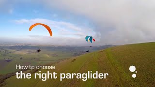 How to Choose the Right Paraglider (Part One: Which Class?)