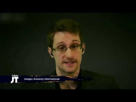 Les déclarations chocs de Snowden en France - L'Autre JT