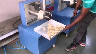 preview picture of video 'R-Smith dough ball peda / ladu machine Rajkot'