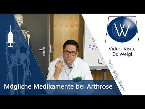 Arthrose heilen durch Medikamente (Diclo, Ibu, Spritzen)? - Medikamente & Nebenwirkungen vermeiden
