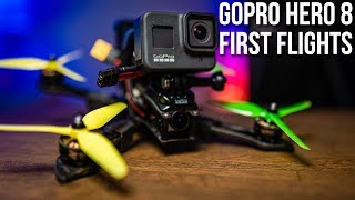 GoPro Hero 8 Black Review | First Flights | FPV Freestyle
