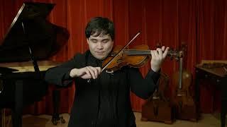 """Carlo Carletti violin labeled """"Hector Soffritti"""""""