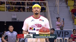 Caguioa joins elite 10K club | PBA Governors' Cup 2018