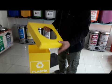 Sıfır Atık Projesi Plastik Atık Kutusu Montajı