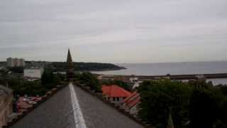 preview picture of video 'View Of Kirkcaldy From Top Of Old Kirk Tower Kirkcaldy Fife Scotland'