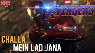 Marvel Avengers 'ft. | URI | CHALLA ( MEIN LAD JANA )' For MARVEL fans