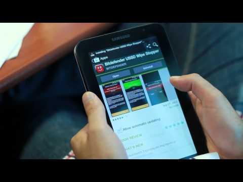 Video of Bitdefender USSD Wipe Stopper