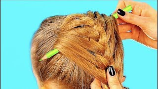 10 CUTE 1-MINUTE HAIRSTYLES FOR YOUR LITTLE GIRL