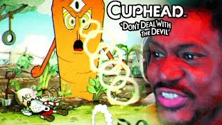 RAGE. ON THE FIRST EPISODE WHAT IS HAPPENING | Cuphead Gameplay
