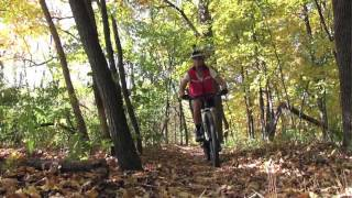 Kickapoo State Recreation Area: Mountain Bike Trails