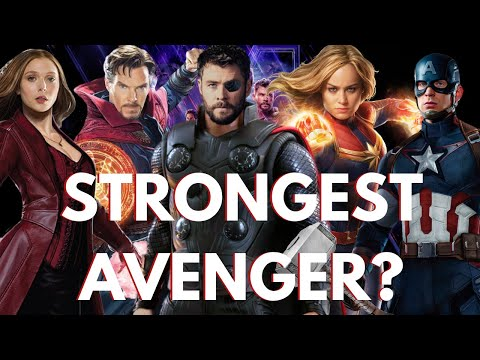 Ranking the Most Powerful Heroes in the MCU - Avengers: Endgame