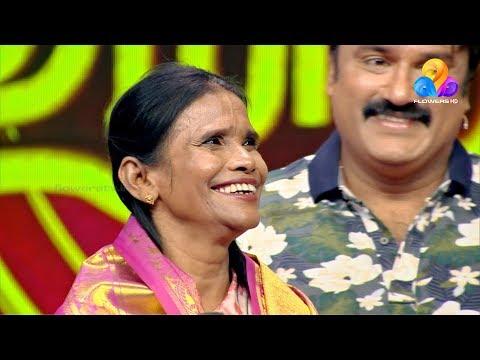 Comedy Utsavam (Ranu Mondal)│Flowers│Ep#480