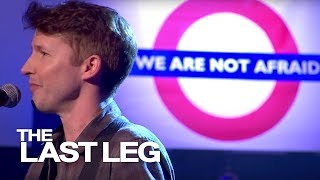 James Blunt Sings Out The Show - The Last Leg